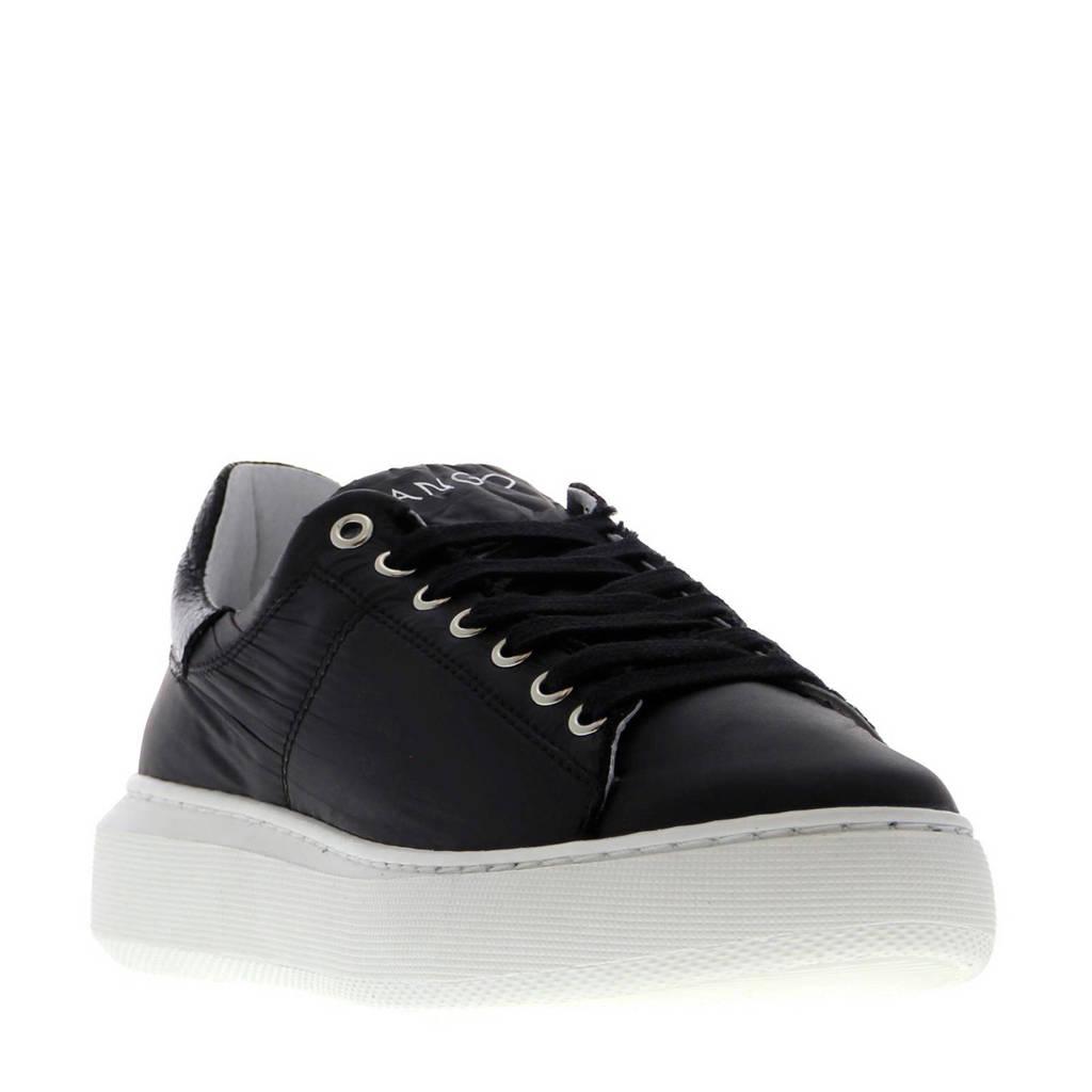 Tango Shoes Ingeborg 2-M sneakers zwart, Zwart