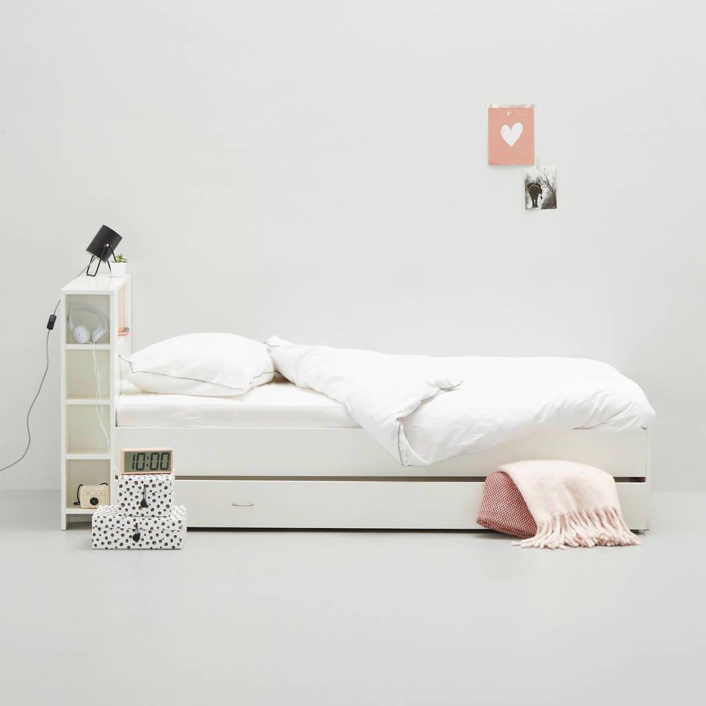 wehkamp bed Mila met bedlade  (90x200 cm), Wit