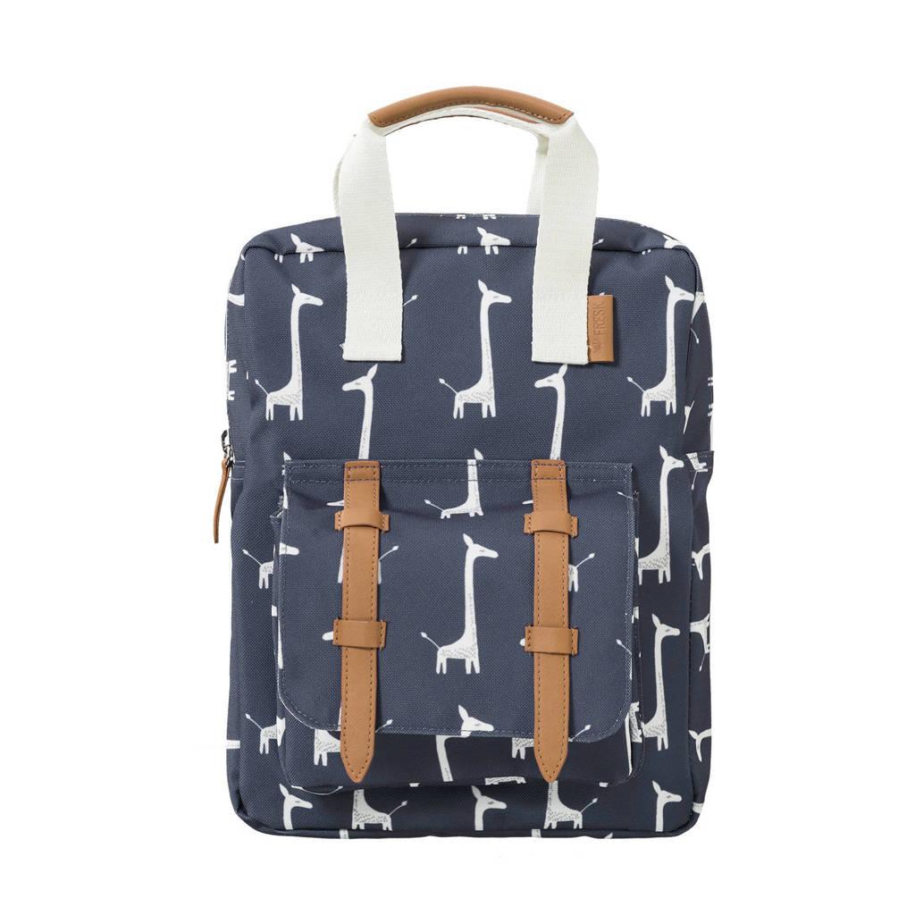 Fresk rugzak giraf donkerblauw, Donkerblauw