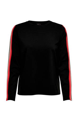 trui zwart/wit/rood