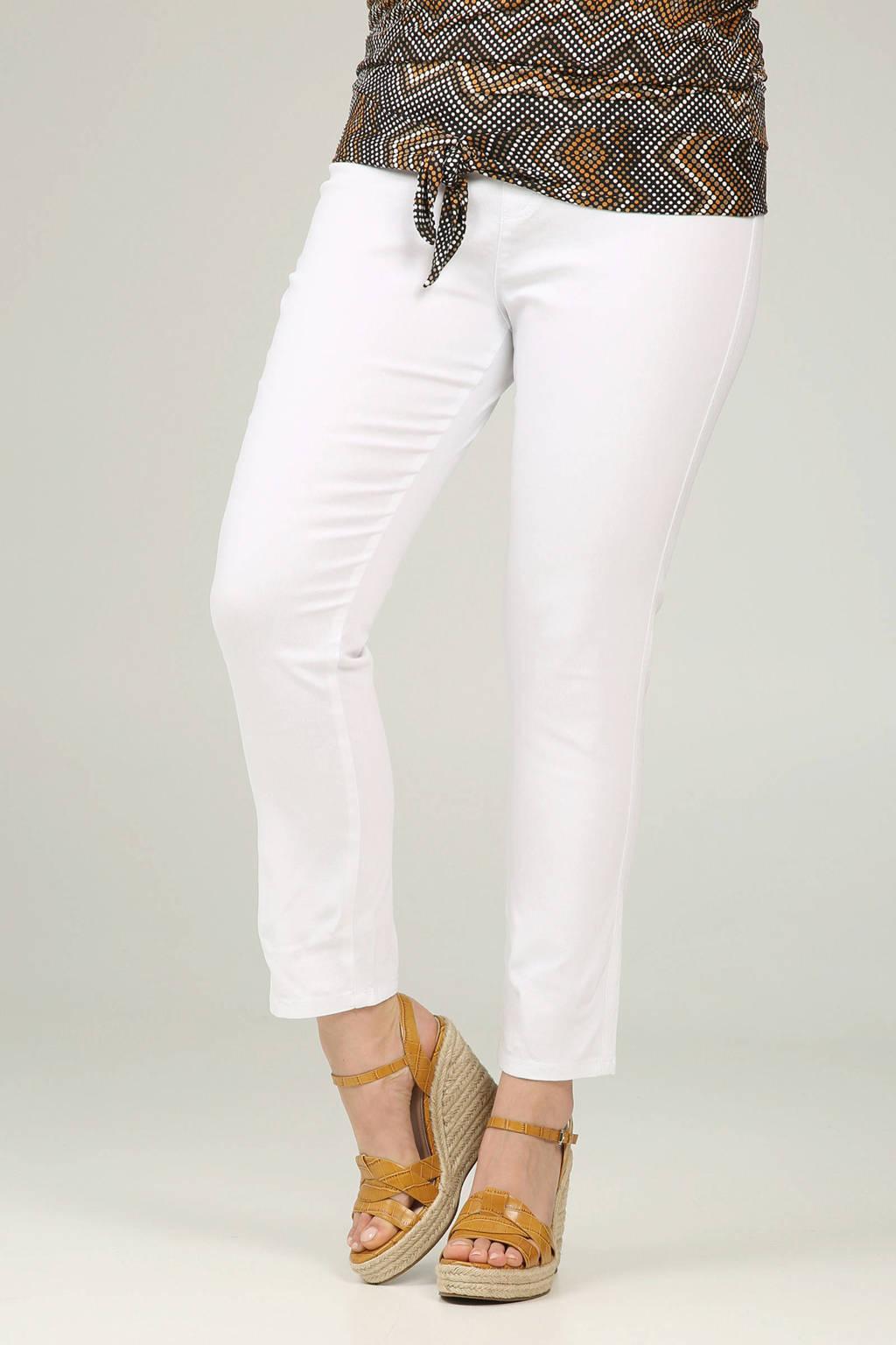 voortreffelijk ontwerp nieuw mooie schoenen Paprika slim fit 7/8 tregging wit | wehkamp
