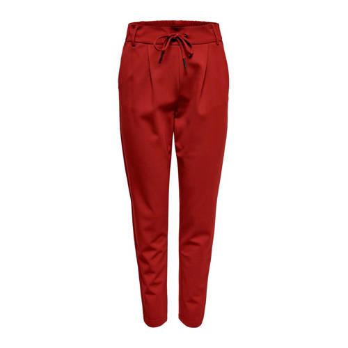 ONLY slim fit broek rood