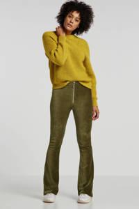 Minimum trui met wol geel, Geel