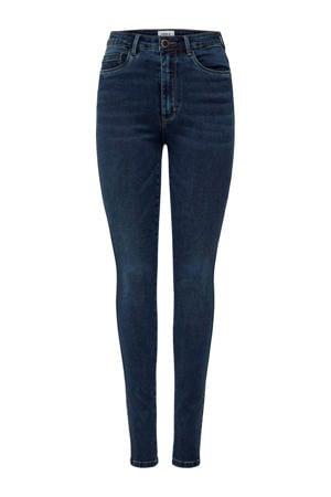 high waist skinny jeans ONLROYAL dark blue denim