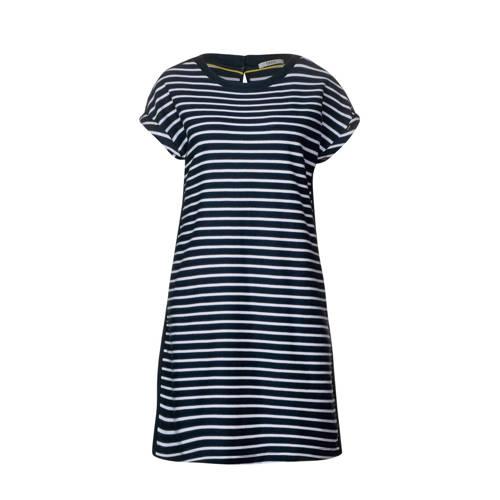 CECIL gestreepte jurk donkerblauw