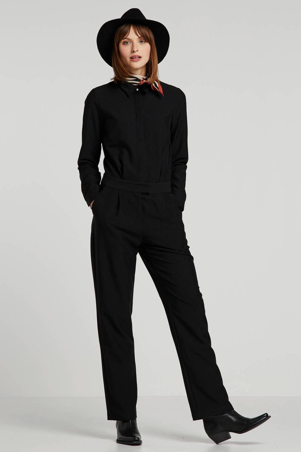 NÜMPH jumpsuit zwart, Zwart