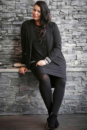 rok Ida met textuur zwart