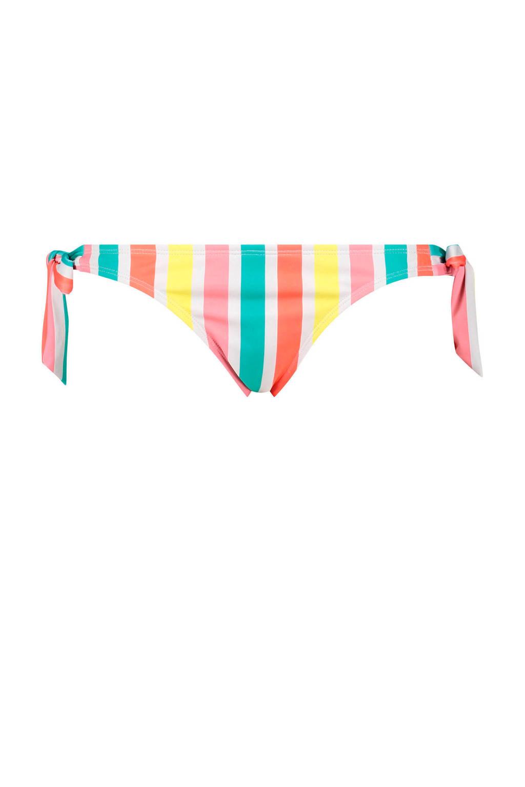 Hunkemöller brazilian strikbroekje Tropics roze/blauw/geel/oranje/wit, Roze/blauw/geel/oranje/wit
