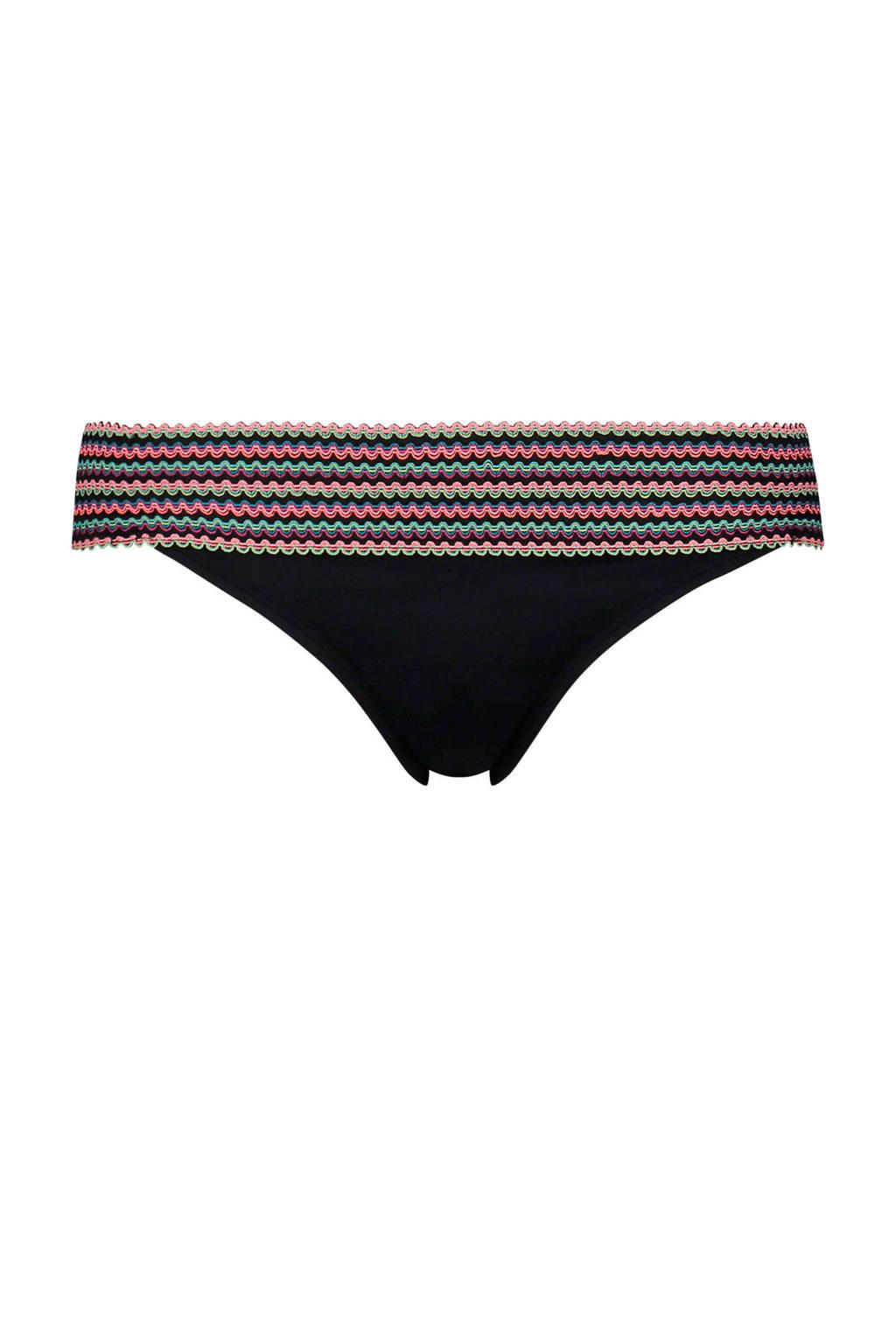 Hunkemöller Cheeky bikinibroekje Paradise zwart, Zwart