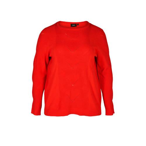 Zizzi trui rood