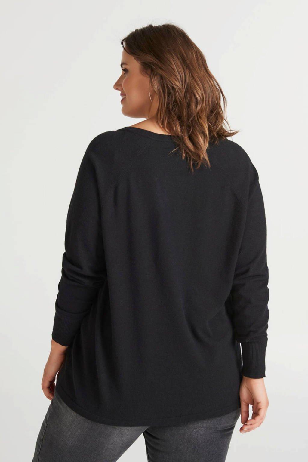 Zizzi trui zwart, Zwart