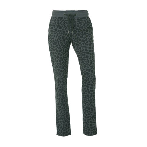 Donnay fleece sportbroek panterprint