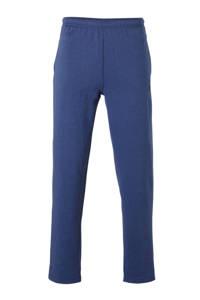 Donnay   joggingbroek blauw gemeleerd, blauw melange