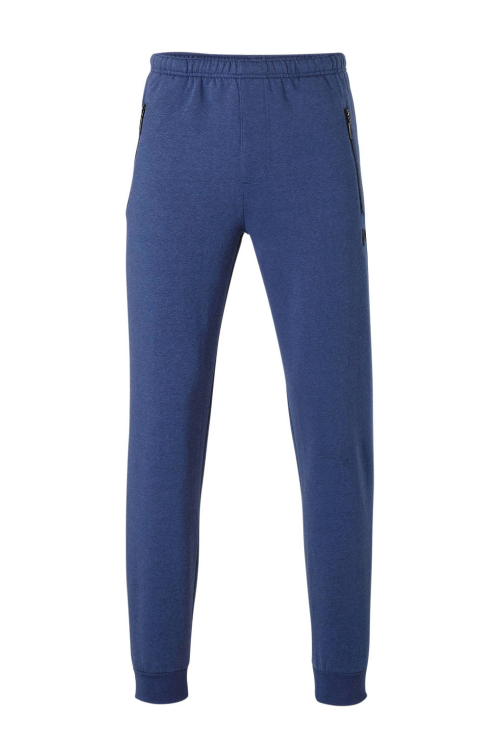 Donnay   trainingsbroek blauw gemeleerd, blauw melange