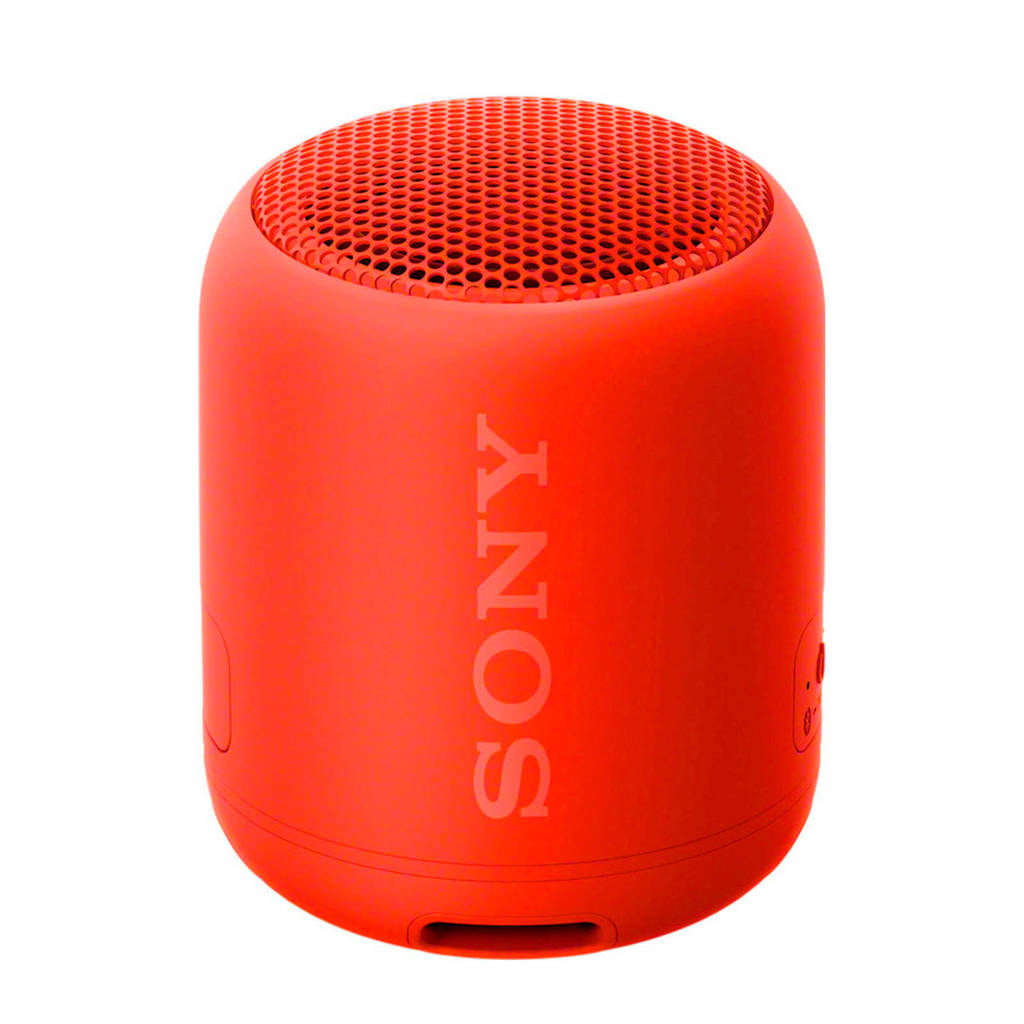 Sony SRSXB12R  Bluetooth speaker, Rood
