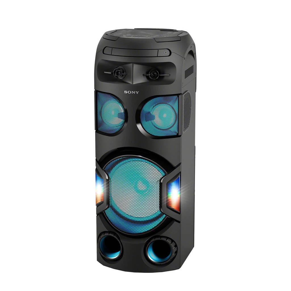 Sony MHCV72D  Bluetooth speaker, Zwart
