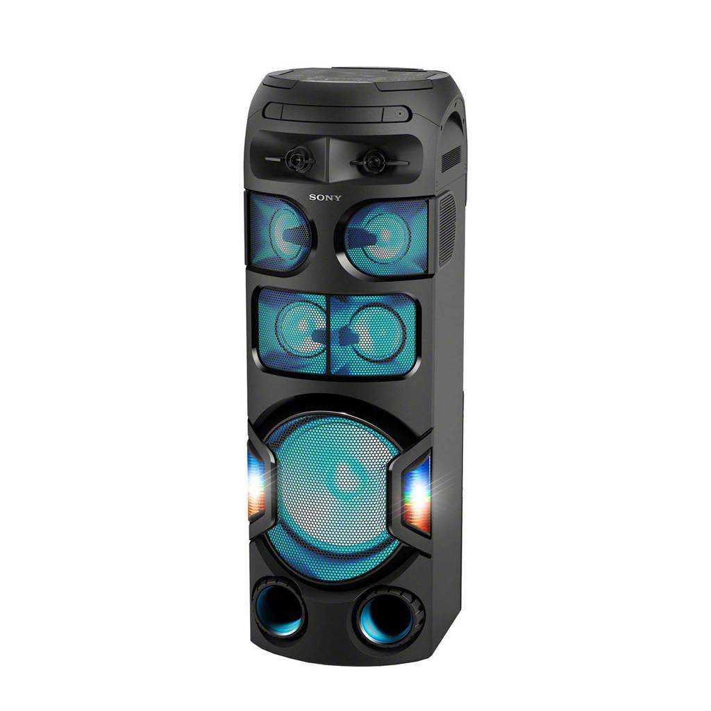 Sony MHCV82D  audiosysteem, Zwart