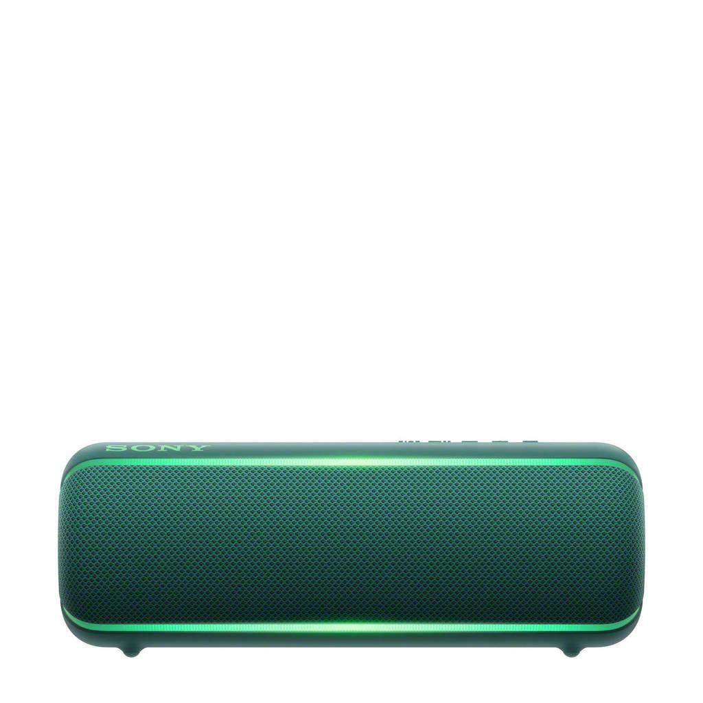 Sony   Bluetooth speaker, Groen