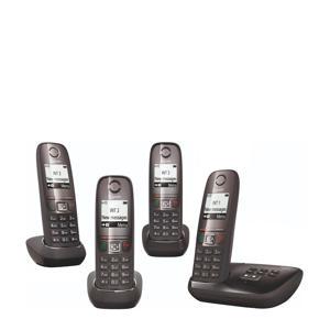 GIGNL-A4SPBOX-BLK Quarto huistelefoon