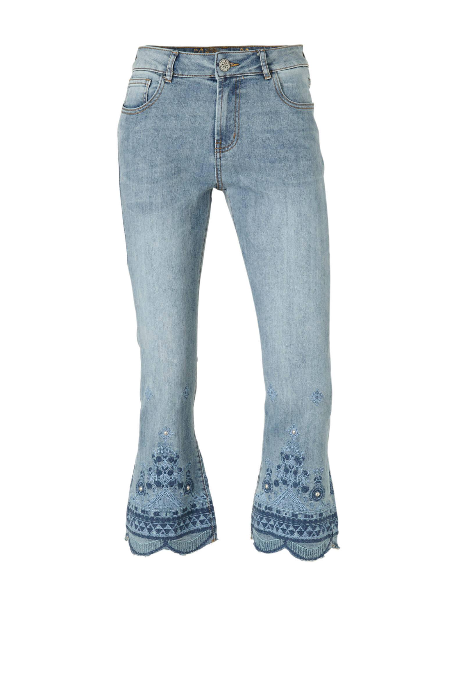 hoog model spijkerbroek