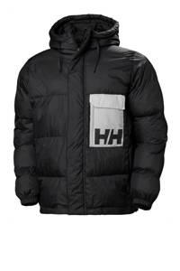 Helly Hansen winterjas met logo zwart, Zwart