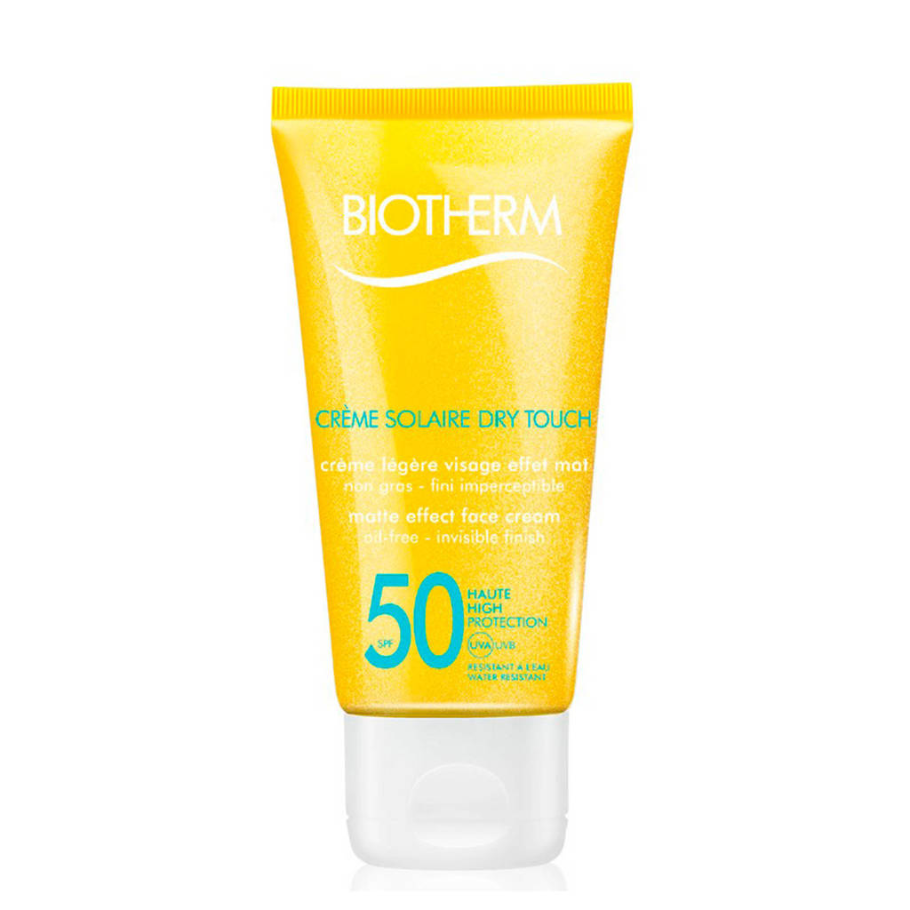 Biotherm Solaire Basic Creme Solaire SPF50 Dry Touch zonnebrand - 50 ml