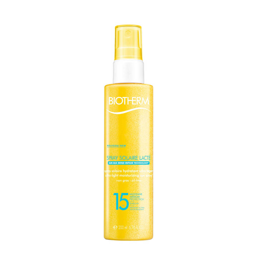 Biotherm Solaire Basic Spray Solaire Lactee SPF15 zonnebrand - 200 ml