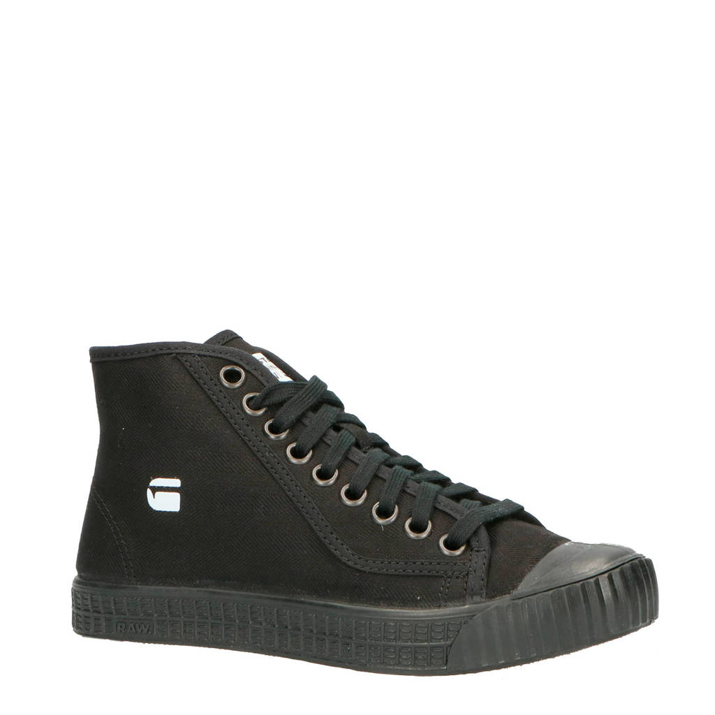 G-Star RAW Rovulc MID WMN sneakers zwart, Zwart