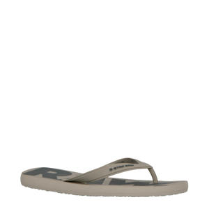 Dend teenslippers taupe