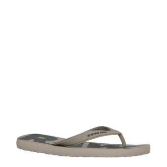 4eafeb3d2bb G-Star RAW. teenslippers donkerblauw. 29.95. Dend teenslippers taupe