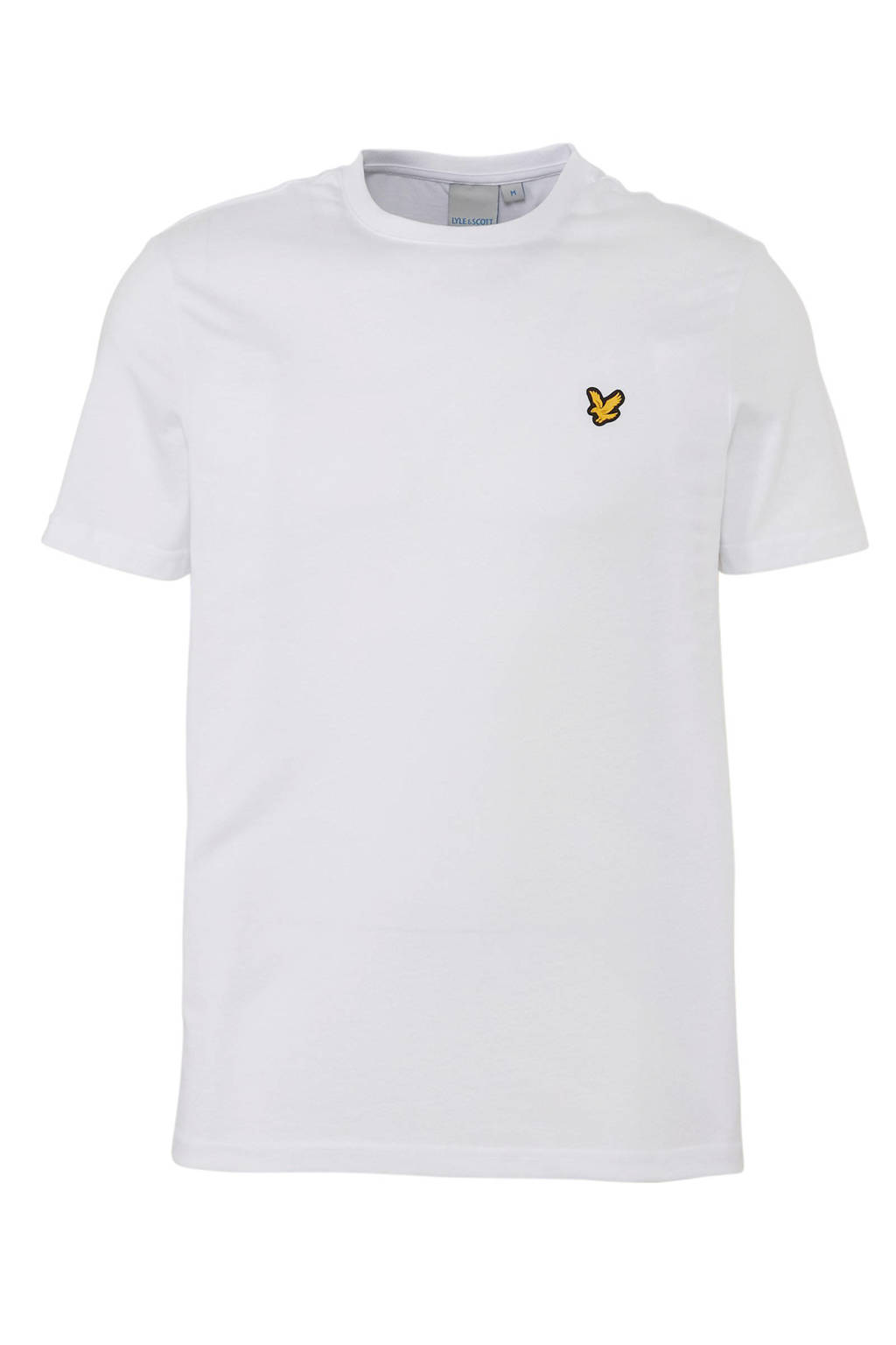 Lyle & Scott sport T-shirt wit, Wit