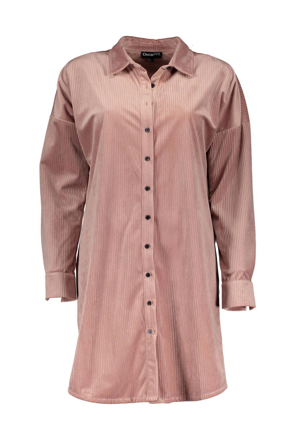 Oscar&Jane corduroy blousejurk Lieke roze, Roze