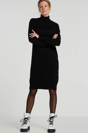 jurk van biologisch katoen zwart