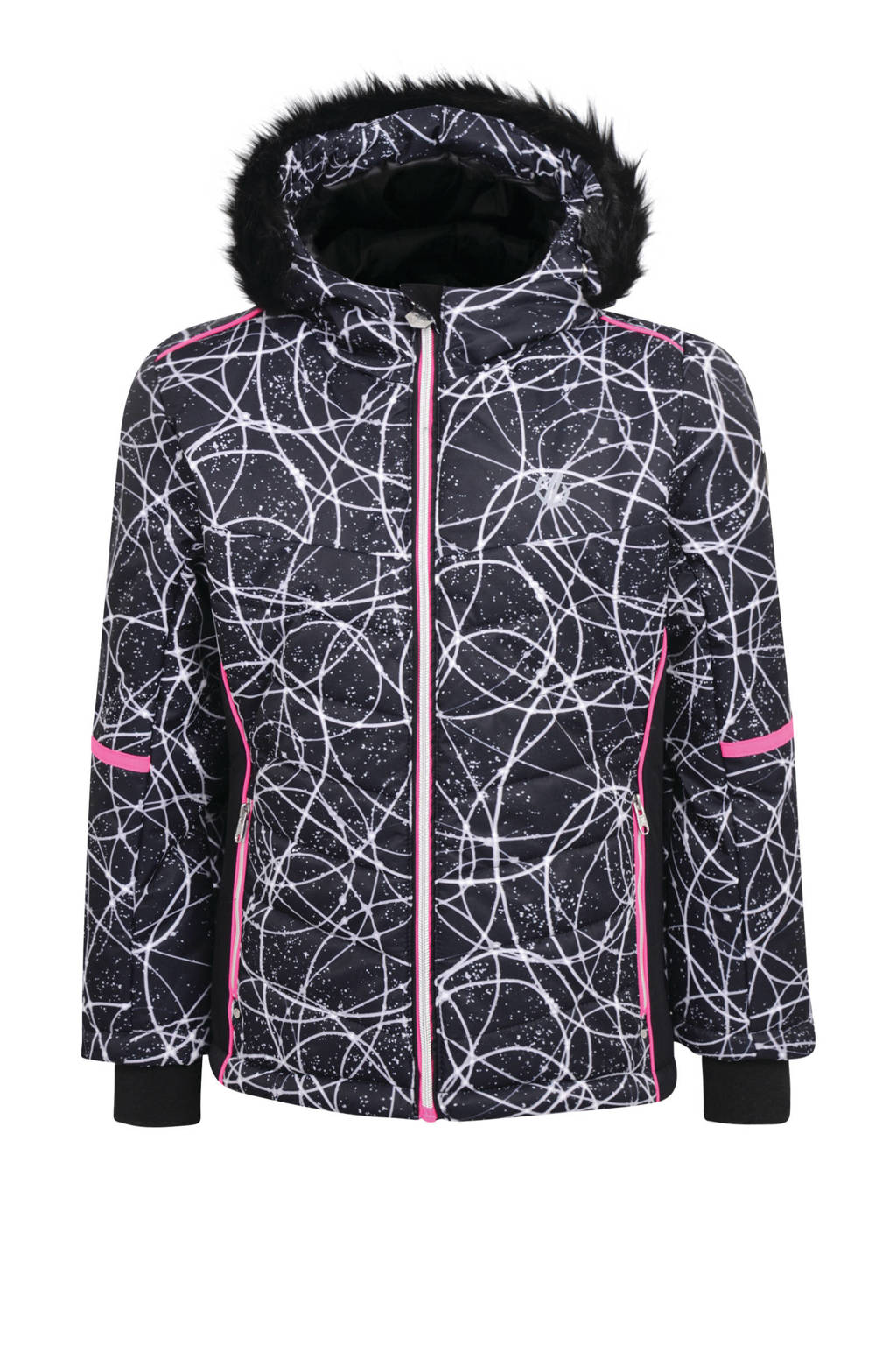 Dare2B ski-jack zwart/wit, Zwart/wit