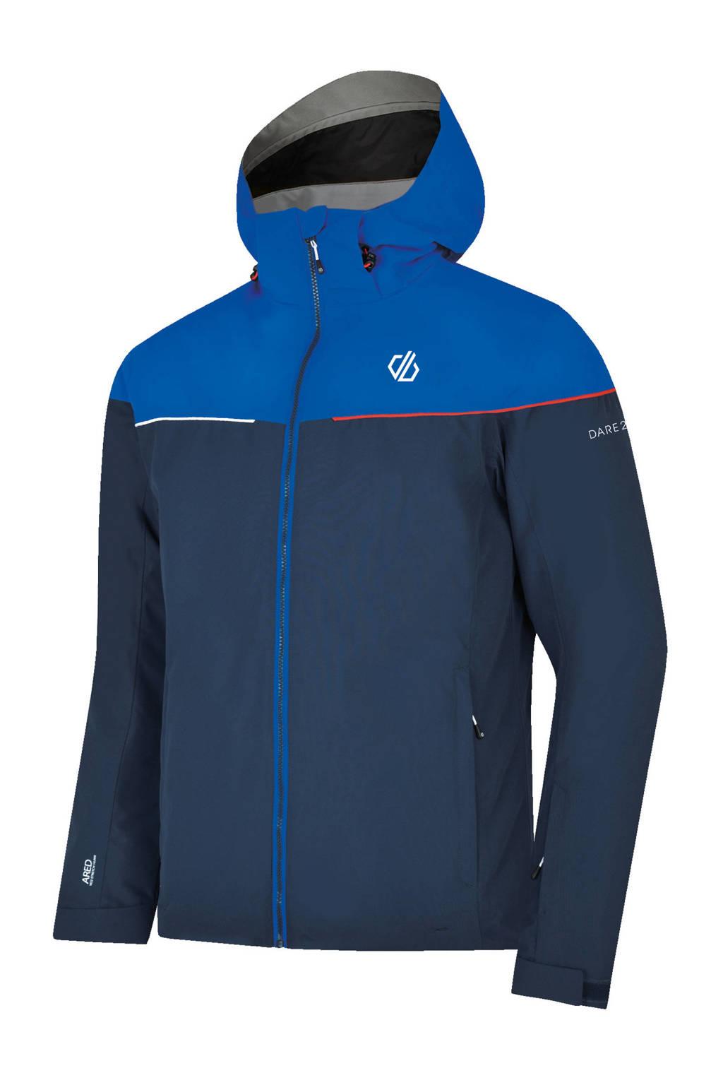 Dare2B ski-jack donkerblauw/blauw, Donkerblauw/blauw