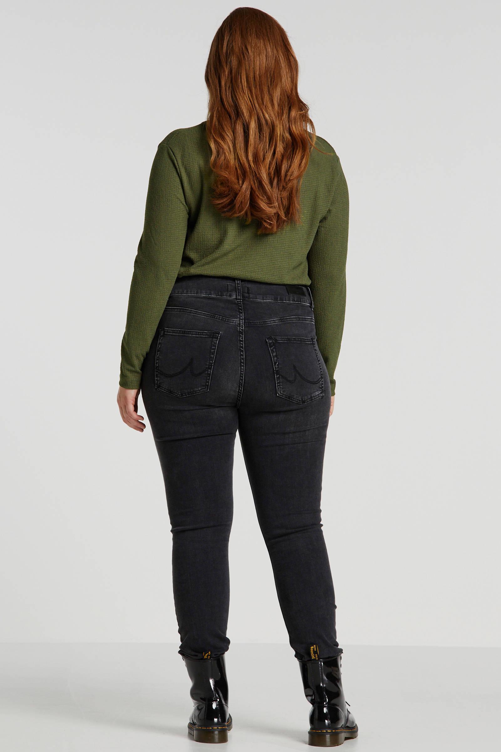 LTB Plus slim fit jeans Maren donkergrijs