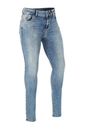 low waist slim fit jeans Vivien Etu wash
