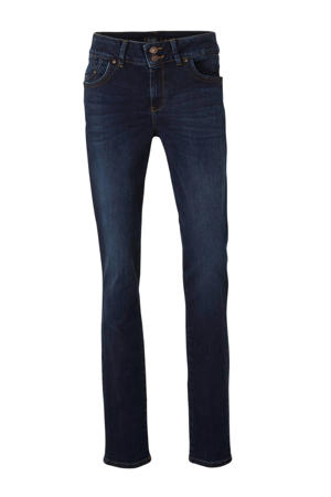Plus low waist slim fit jeans Vivien dark denim