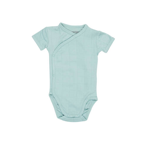Lodger newborn romper Solid mint kopen