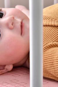 Lodger newborn baby romper Ciumbelle, Oker