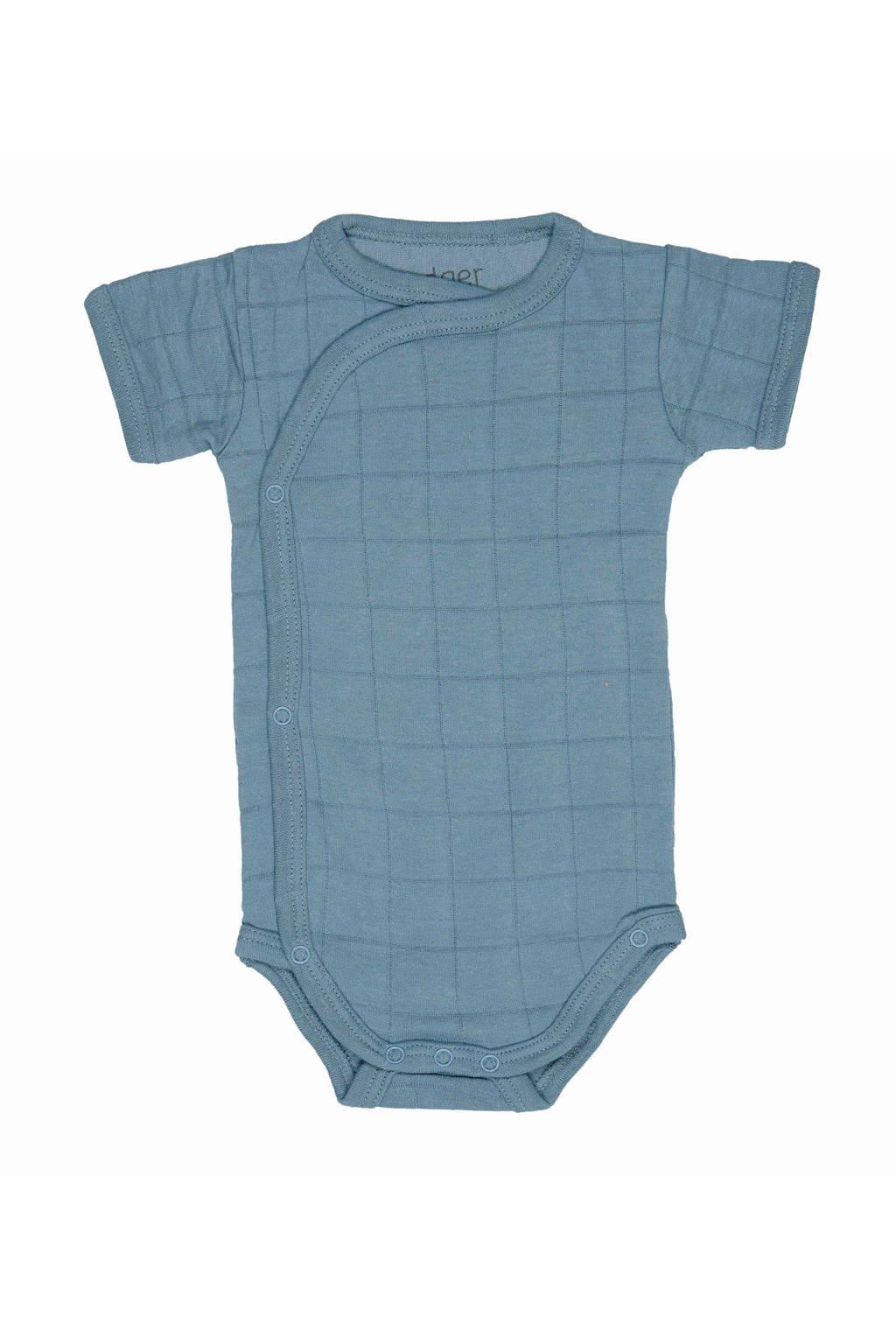 Lodger newborn baby romper Ciumbelle, Blauw