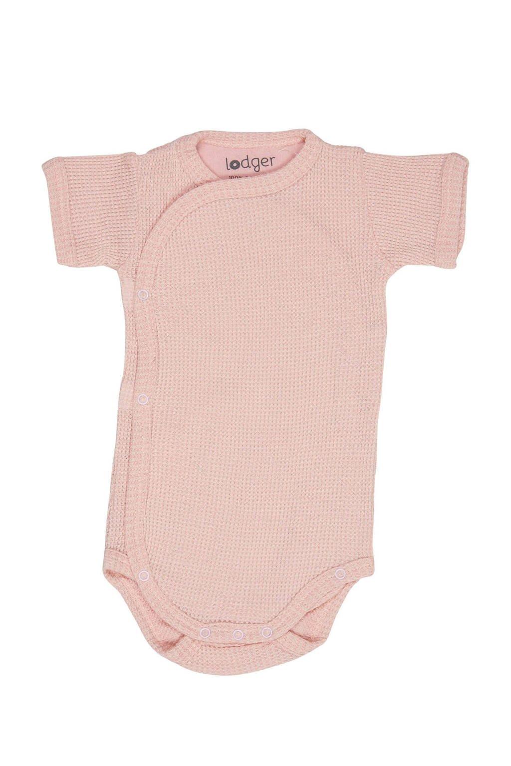 Lodger newborn baby romper Ciumbelle, Lichtroze