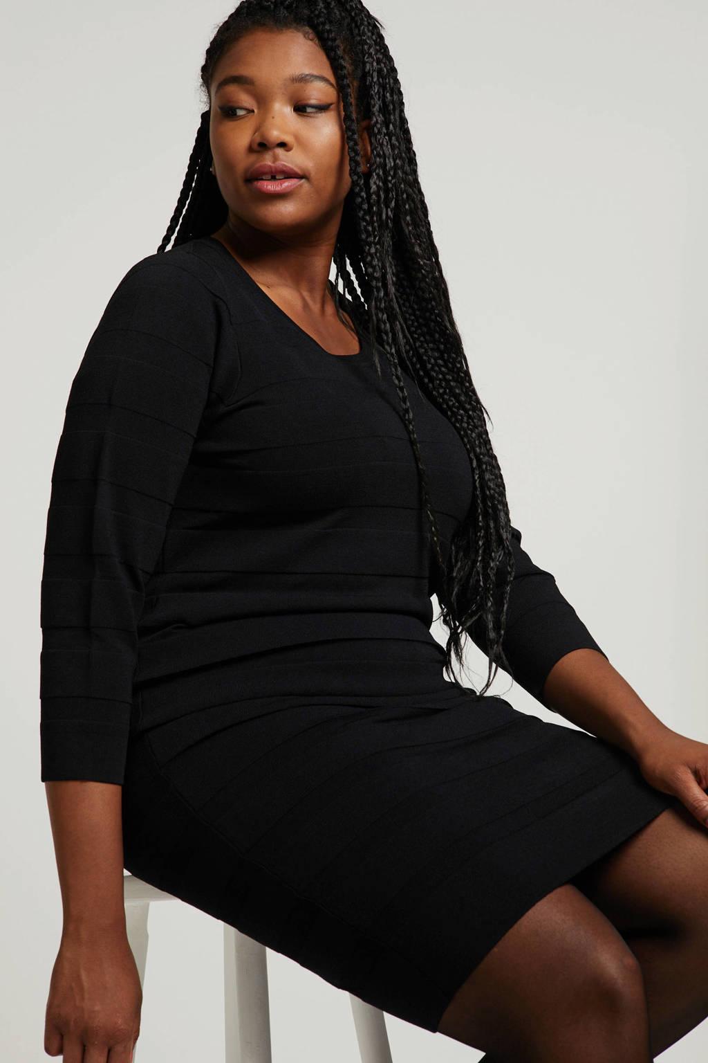 Zhenzi jurk zwart, Zwart
