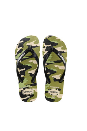 Top Camu  teenslippers camouflage