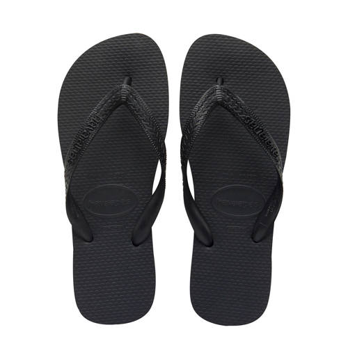 Havaianas Unisex Top Flip Flops Black EU 35-36-UK 2-3