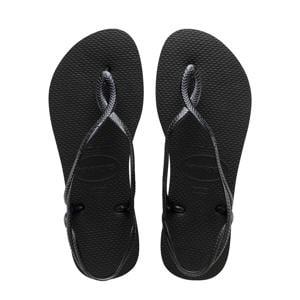 Luna  sandalen zwart