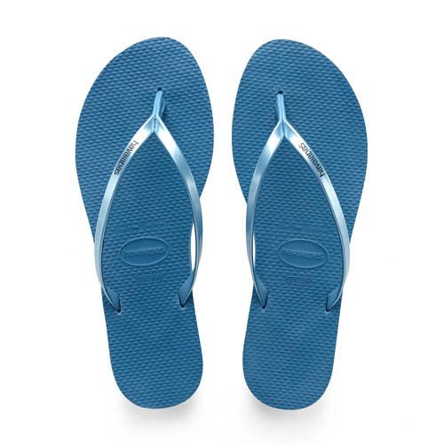 Havaianas You teenslippers blauw kopen