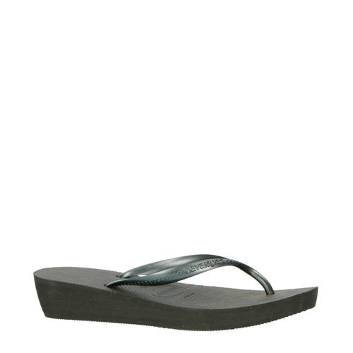 Havaianas High Light teenslippers zwart