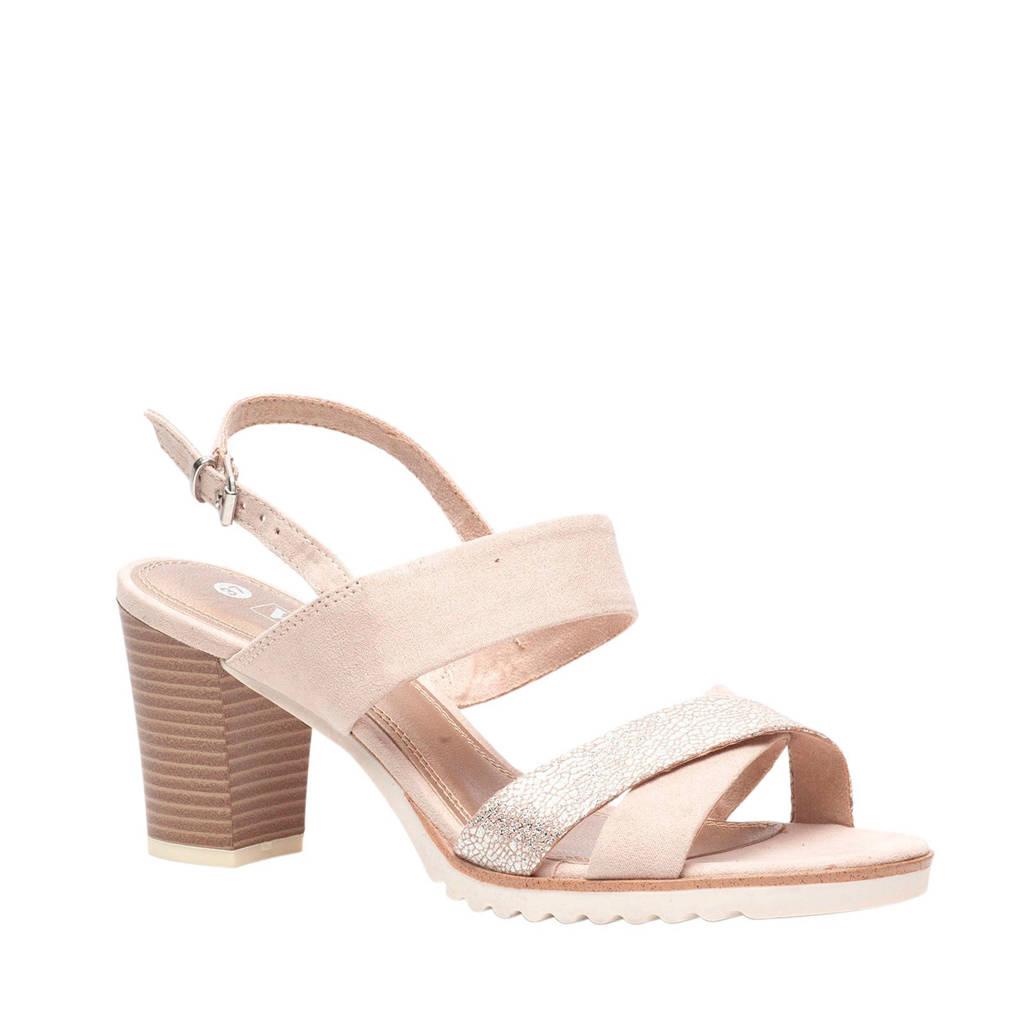 Scapino Nova   sandalettes lichtroze, Lichtroze