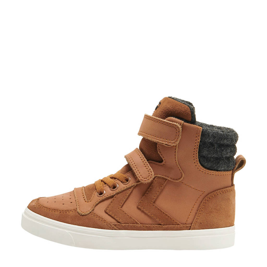 hummel Stadil Winter High  sneakers camel, Camel
